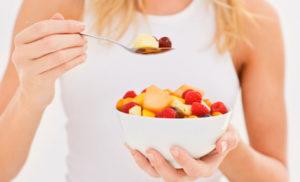 Spuntini con frutta