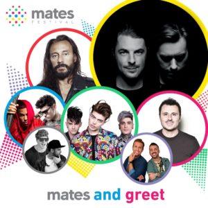 Il Mates Festival ospiterà un parterre di superstar internazionali sotto la bandiera dell'amicizia.