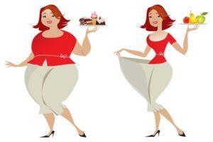 Sovrappeso vs in forma
