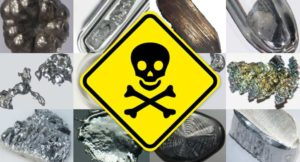 Gli effetti nocivi dei metalli pesanti