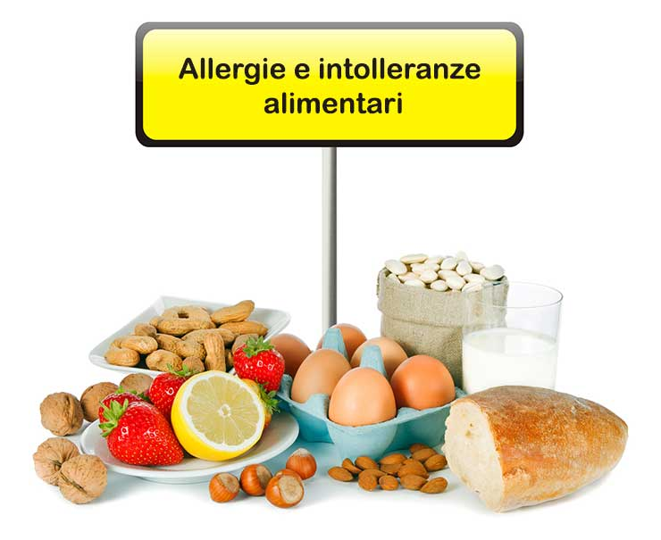 Differenza tra allergie ed intolleranze alimentari