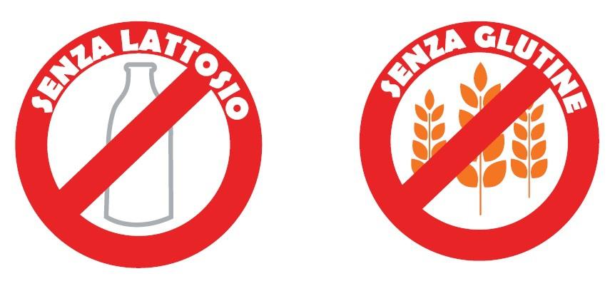 Intolleranze alimentari: lattosio e glutine