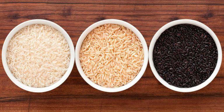 Tipi di riso: bianco, nero, integrale