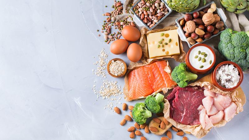Gli alimenti della dieta iperproteica