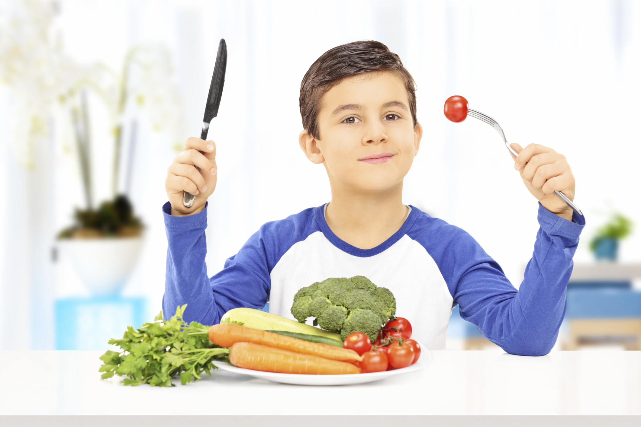 Bambini vegani e/o vegetariani