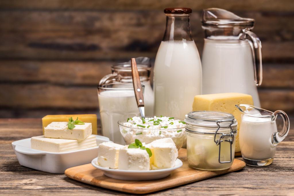 Prodotti naturali fortificati con probiotici